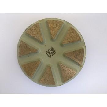 Полировальный металлический пад (диаметр 80мм / h - 5мм)