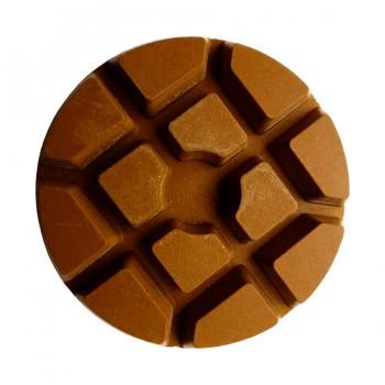 Полировальный пад пластик медь 50 grit (80*10 мм) сухая шлифовка бетона