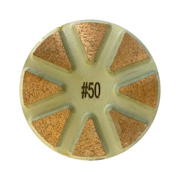 Полировальный пад металл 50 grit (80*5 мм) сухая/мокрая шлифовка бетона
