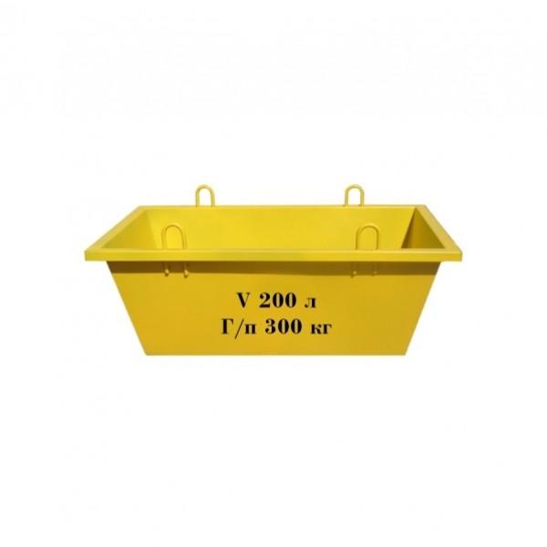 Ящик каменщика ЯК-0,2 м3