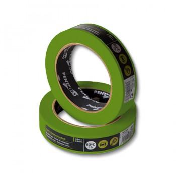 Малярная лента защита для профилирования Pentrilo Greenmask Fine Line 6 мм х 45 м