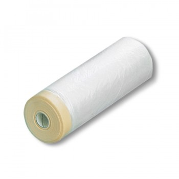 Пленка с малярной лентой Pentrilo Premium 2700 мм х 20 м