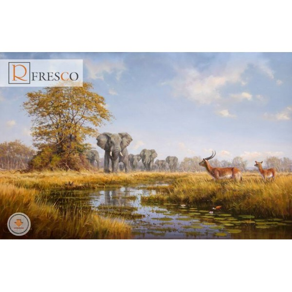 Фреска Renaissance Fresco Animals (F3028)