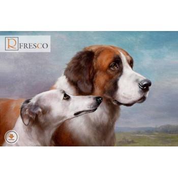 Фреска Renaissance Fresco Animals (F3041)