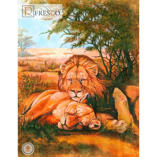 Фреска Renaissance Fresco Animals (F3094)