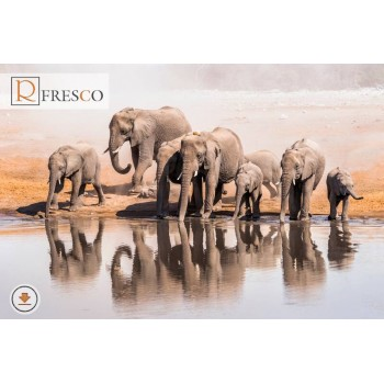 Фреска Renaissance Fresco Animals (f3129)