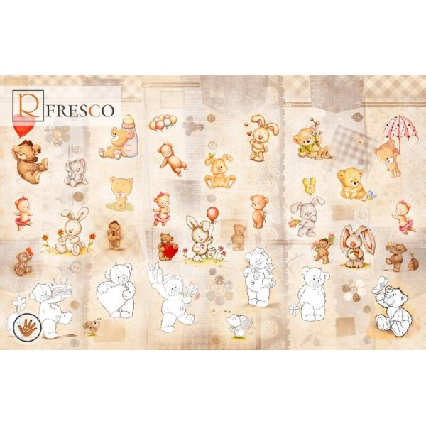 Фреска Renaissance Fresco Baby Picture (P024)