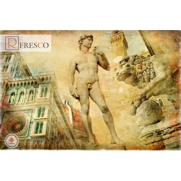 Фреска Renaissance Fresco Cities (F1068)