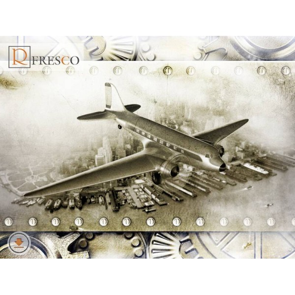 Фреска Renaissance Fresco Cities (F1180)