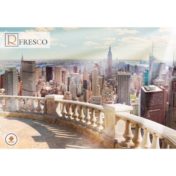 Фреска Renaissance Fresco Cities (F1205)