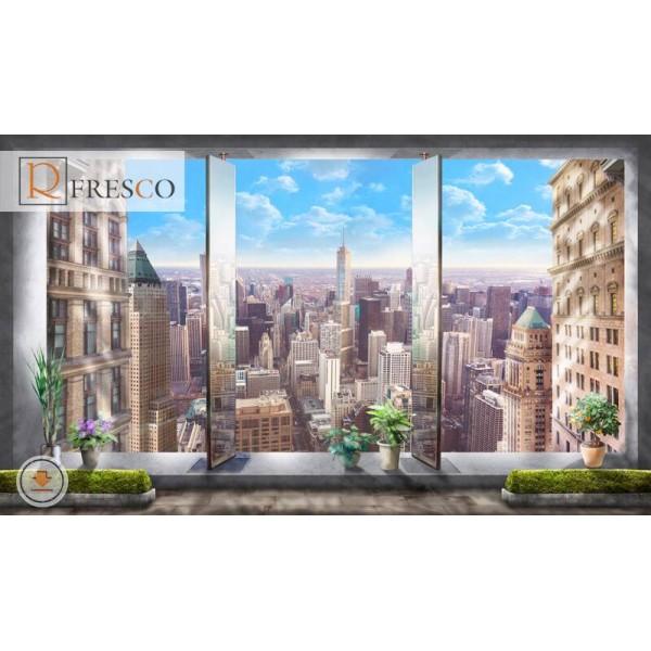 Фреска Renaissance Fresco Cities (F1240)
