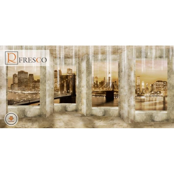 Фреска Renaissance Fresco Cities (f1102)