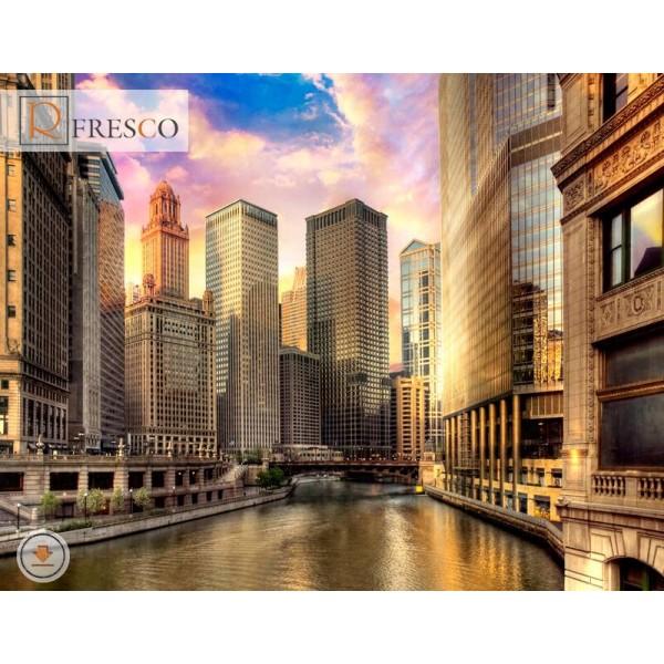 Фреска Renaissance Fresco Cities (f1161)