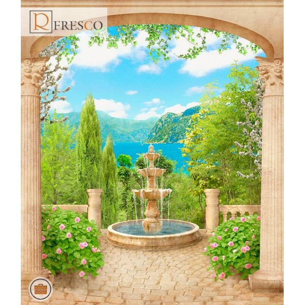 Фреска Renaissance Fresco Landscapes (4389)