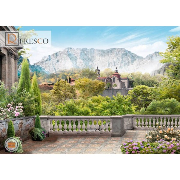 Фреска Renaissance Fresco Landscapes (44034)