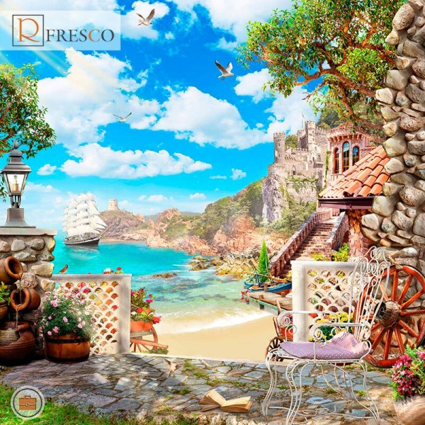 Фреска Renaissance Fresco Landscapes (44268)