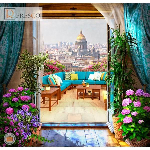 Фреска Renaissance Fresco Landscapes (44435)
