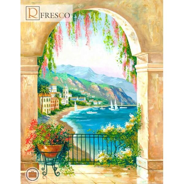 Фреска Renaissance Fresco Landscapes (44440)