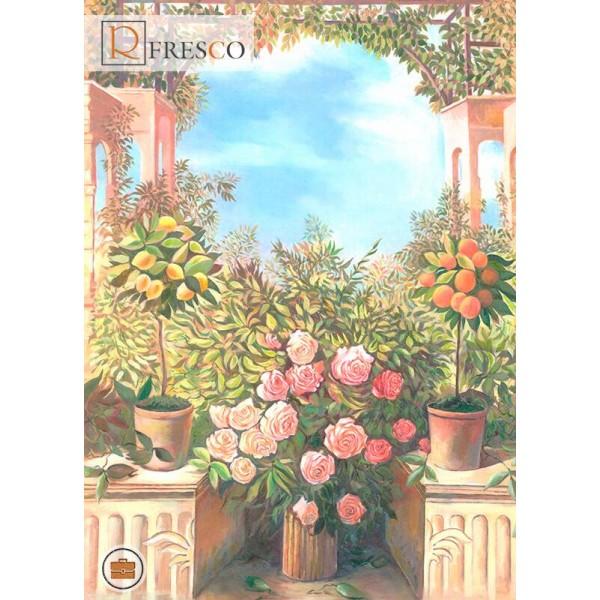 Фреска Renaissance Fresco Landscapes (44449)
