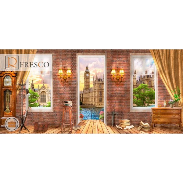 Фреска Renaissance Fresco Landscapes (44481)
