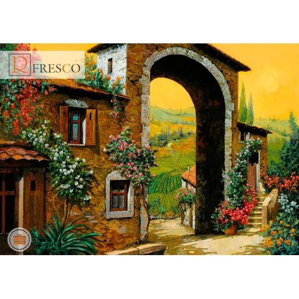 Фреска Renaissance Fresco Landscapes (4614)