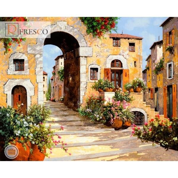 Фреска Renaissance Fresco Landscapes (4620)