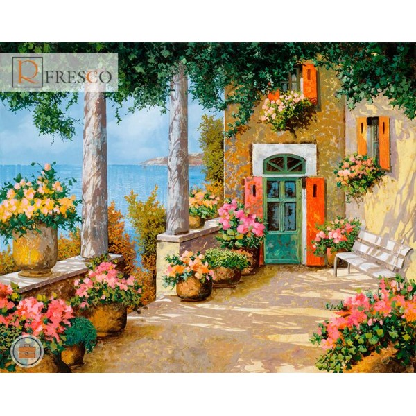 Фреска Renaissance Fresco Landscapes (4633)