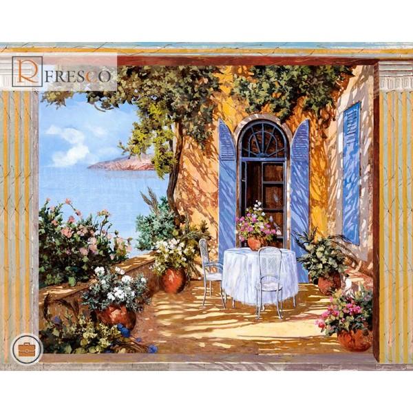 Фреска Renaissance Fresco Landscapes (4635)
