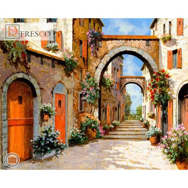 Фреска Renaissance Fresco Landscapes (4636)