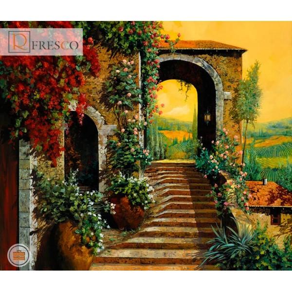 Фреска Renaissance Fresco Landscapes (4639)