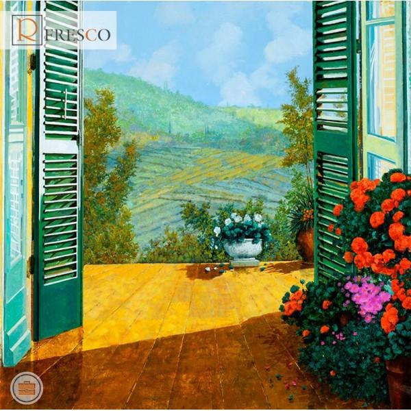 Фреска Renaissance Fresco Landscapes (4669)