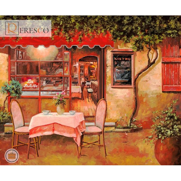Фреска Renaissance Fresco Landscapes (4671)