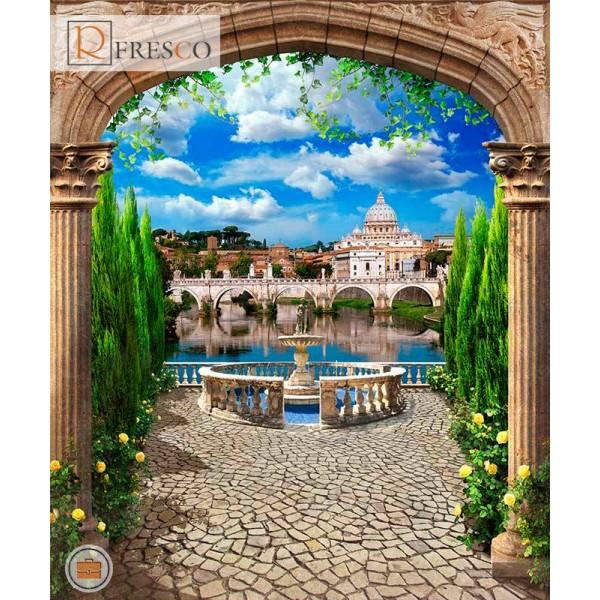 Фреска Renaissance Fresco Landscapes (4734)