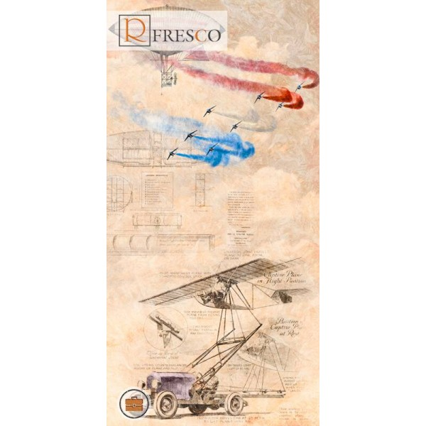 Фреска Renaissance Fresco Maps (1050)