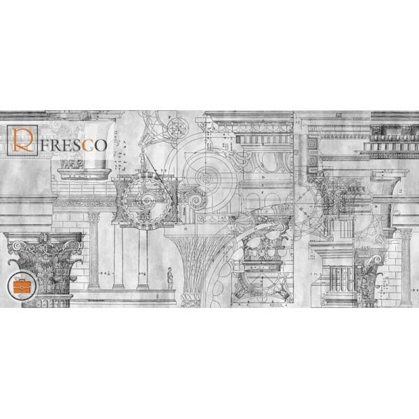 Фреска Renaissance Fresco Maps (1086)