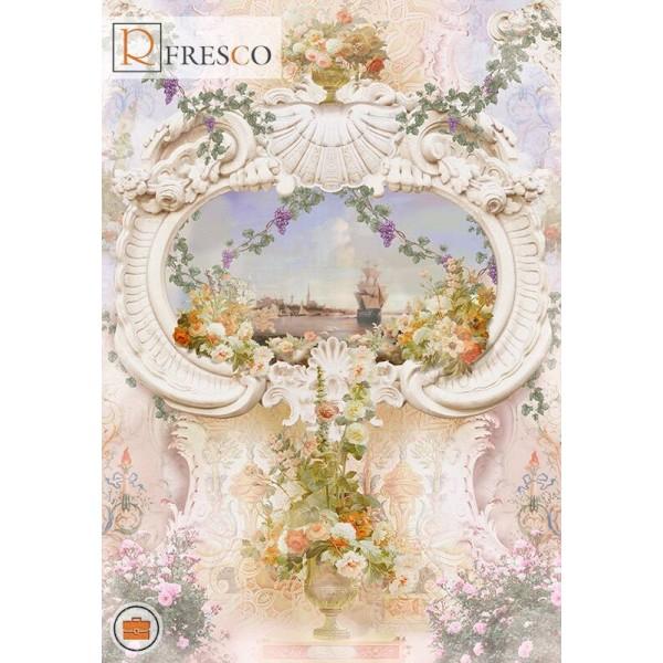 Фреска Renaissance Fresco Maps (1090)