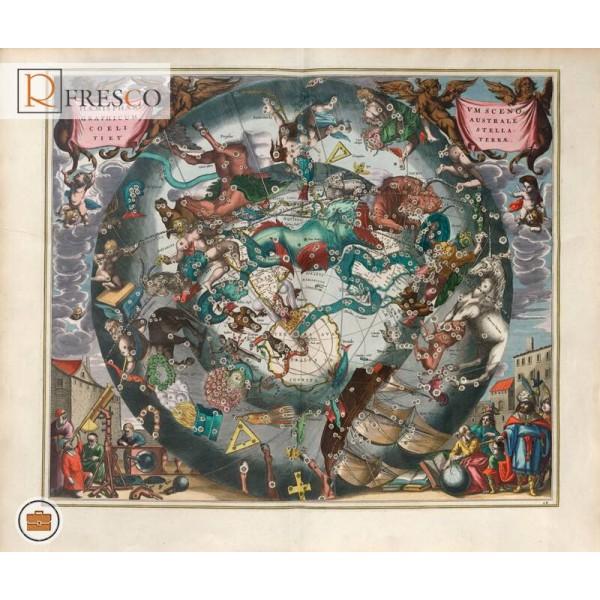 Фреска Renaissance Fresco Maps (12000)