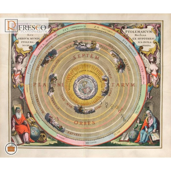 Фреска Renaissance Fresco Maps (12008)