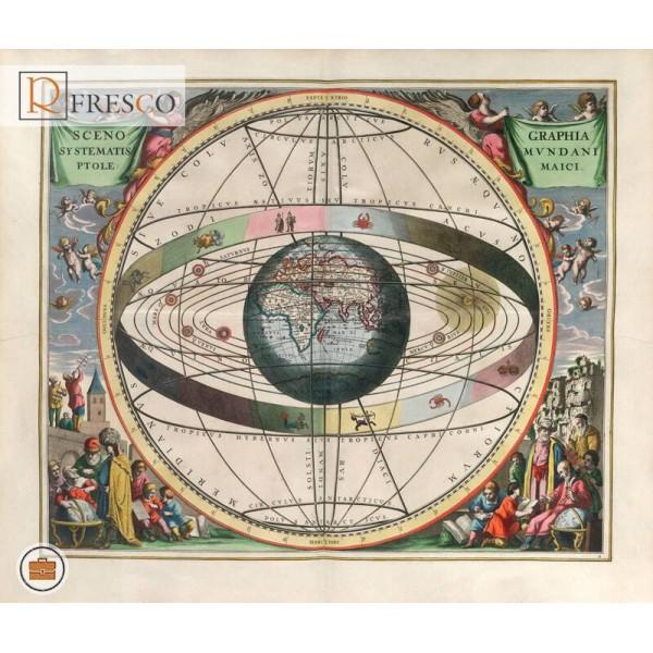 Фреска Renaissance Fresco Maps (12009)