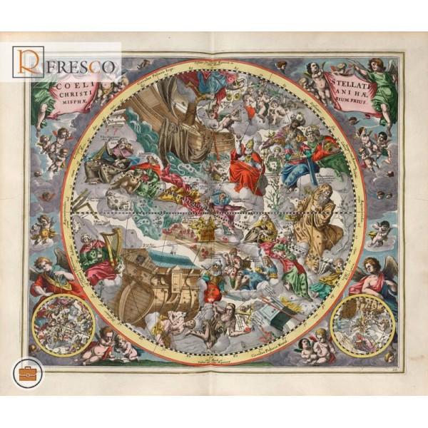 Фреска Renaissance Fresco Maps (12015)