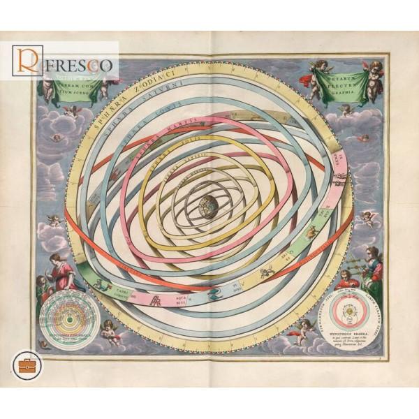 Фреска Renaissance Fresco Maps (12017)
