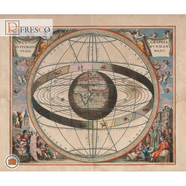 Фреска Renaissance Fresco Maps (12018)