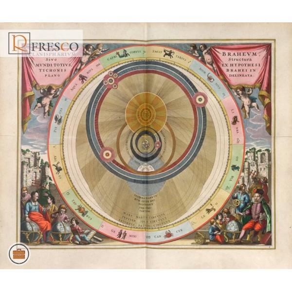 Фреска Renaissance Fresco Maps (12023)
