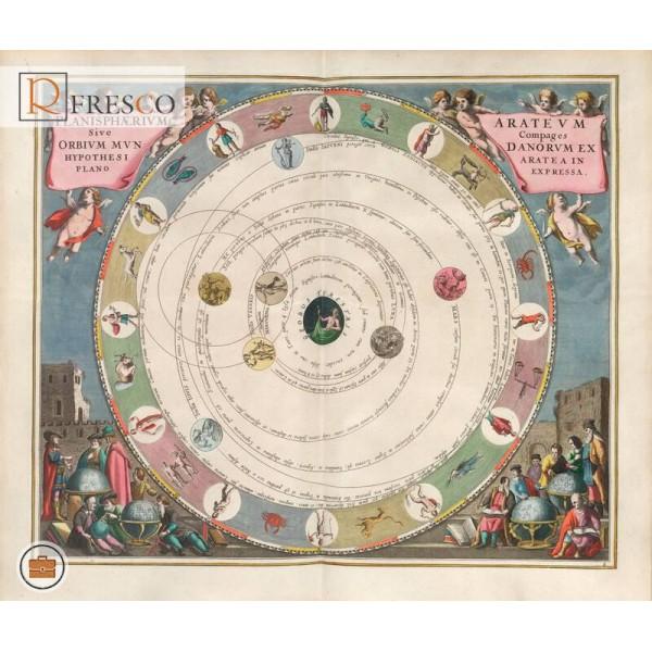 Фреска Renaissance Fresco Maps (12029)