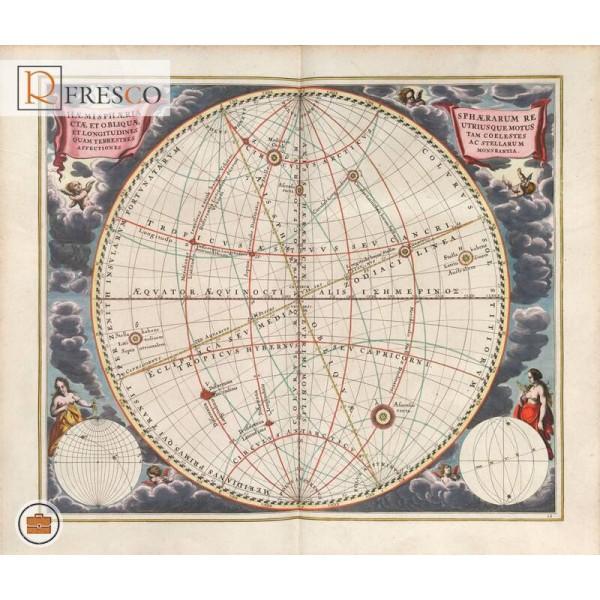 Фреска Renaissance Fresco Maps (12031)