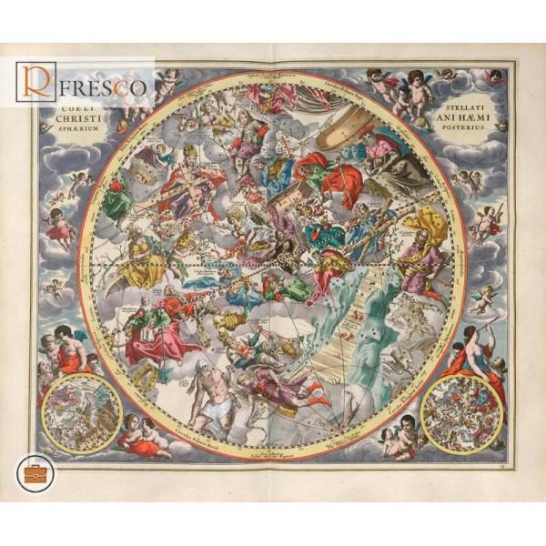 Фреска Renaissance Fresco Maps (12032)