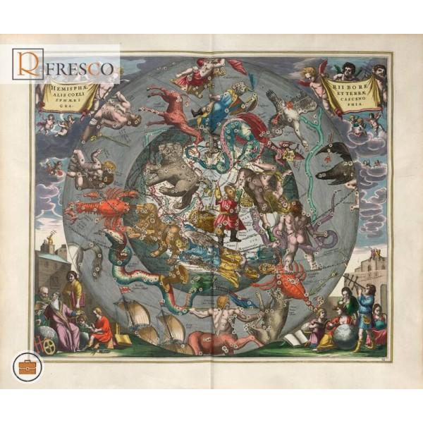 Фреска Renaissance Fresco Maps (12033)