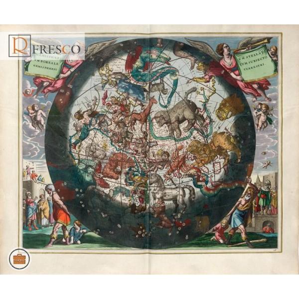Фреска Renaissance Fresco Maps (12034)