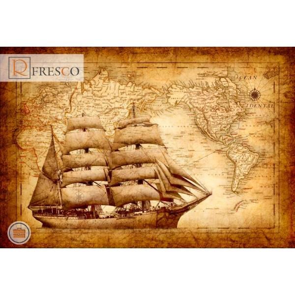 Фреска Renaissance Fresco Maps (12039)