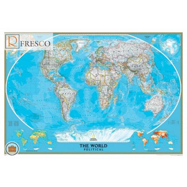 Фреска Renaissance Fresco Maps (12041)